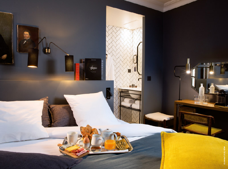 Paris hôtels insolites