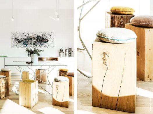 Parti pris minimaliste rénovation villa