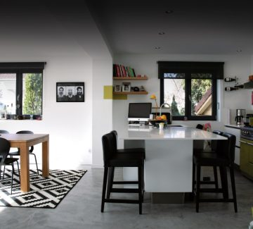 Architecture : une villa graphique à Annecy-le-Vieux