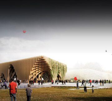 Pavillon France à Milan : quand les architectes se mettent au vert