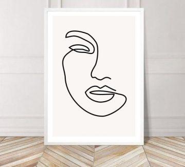 Les portraits minimalistes