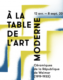 À la table de l'art moderne
