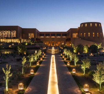 L'hôtel Anantara – Al Jabal al akhdar resort