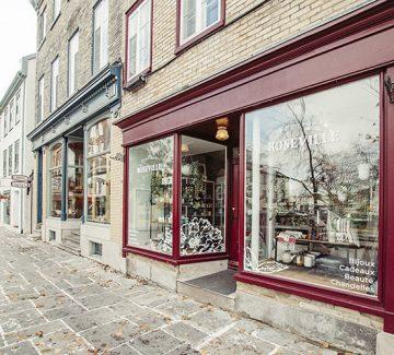 Boutique Roseville : l'inspiration québécoise