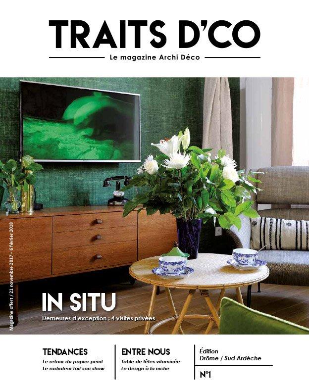 Magazine d co archi design de votre r gion dr me sud for Deco design magazine