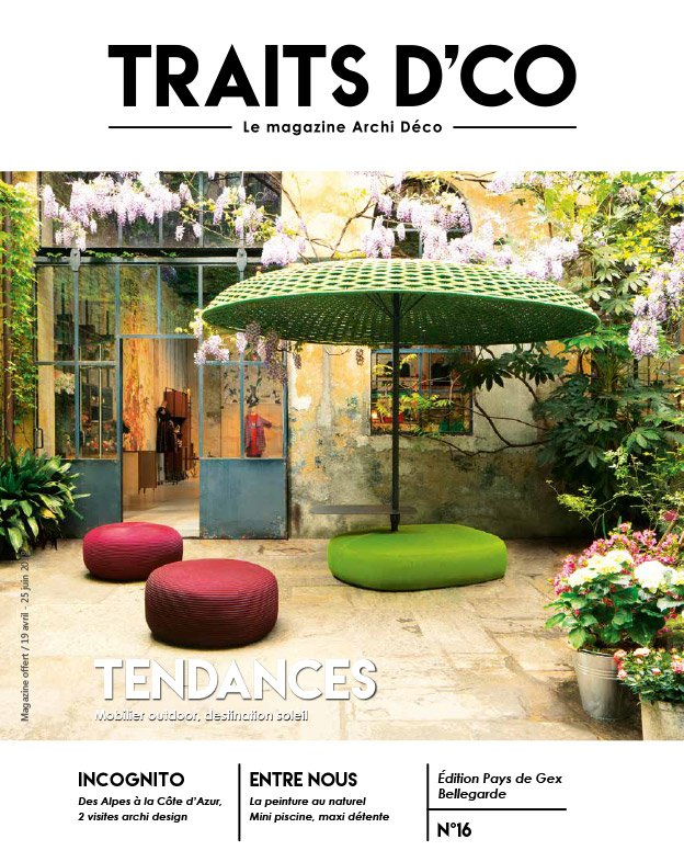 magazine d coration archi design traits d 39 co pays de gex n 16. Black Bedroom Furniture Sets. Home Design Ideas