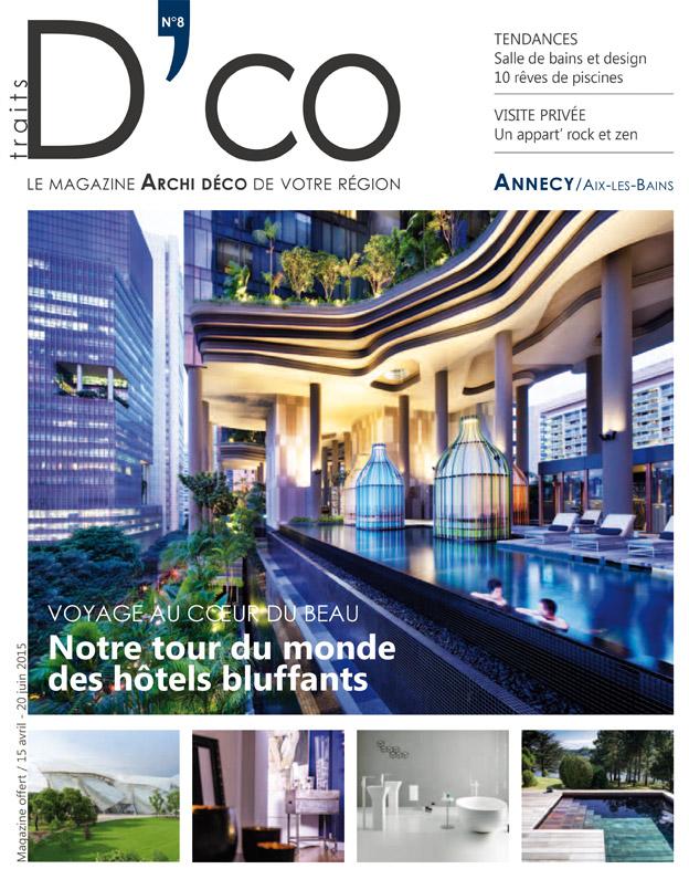 annecy aix les bains n 8 avril 2015 traits d 39 co magazine. Black Bedroom Furniture Sets. Home Design Ideas