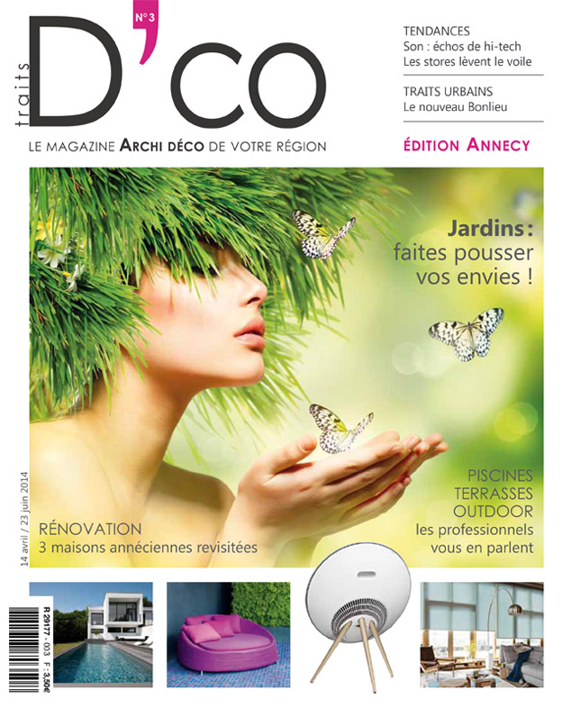 traits dco magazine n 3 avril 2014 traits d 39 co magazine. Black Bedroom Furniture Sets. Home Design Ideas