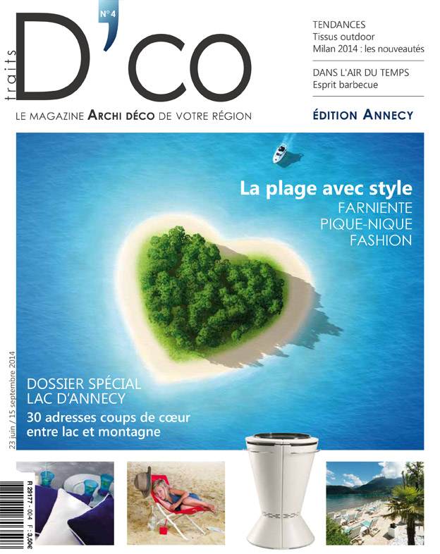 traits dco magazine n 4 juin 2014 traits d 39 co magazine. Black Bedroom Furniture Sets. Home Design Ideas