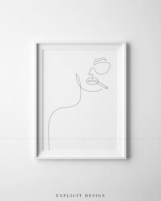les-portraits-minimalistes