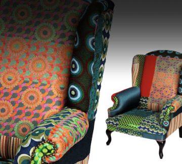 Étoffe et Décor : audacieux fauteuil