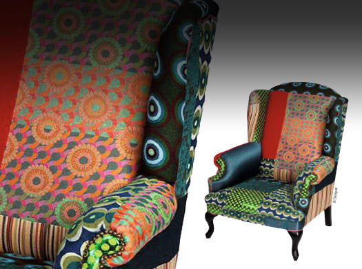 toffe et d cor audacieux fauteuil traits d 39 co magazine. Black Bedroom Furniture Sets. Home Design Ideas