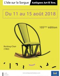 La foire «Antiques Art & You» de l'Isle-sur-la-Sorgue