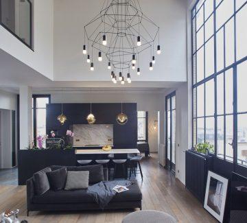 Un appartement dans Paris XVI