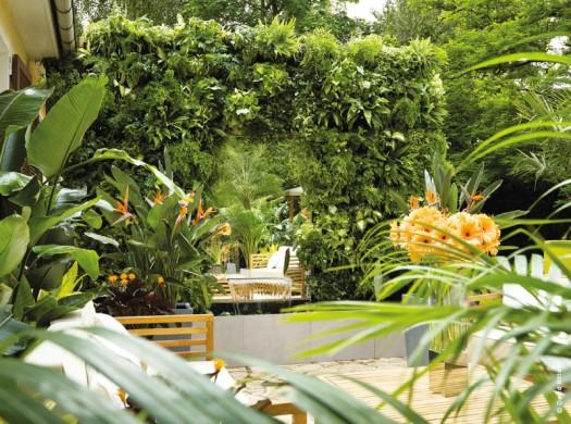 jardin ambiance déco
