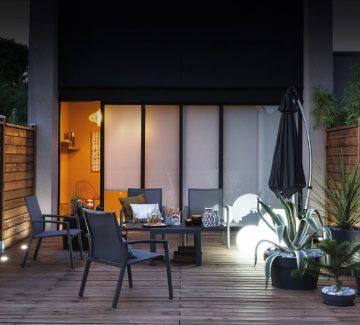 Jardin & design lumineux : Belles de nuit