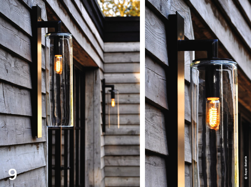 jardin design lumineux belles de nuit traits dco