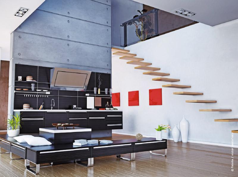 Tendance et décoration : l\'escalier, élément incontournable
