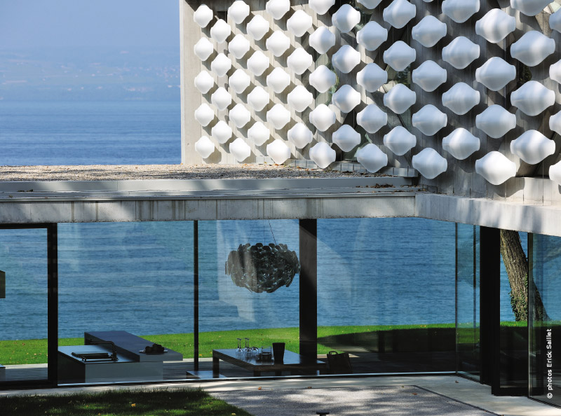 maison d'architecte lac léman