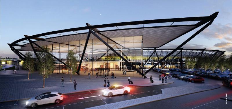 nouveau Terminal Lyon - Saint-Exupéry