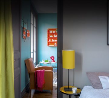 Un singulier appartement de poche à Paris
