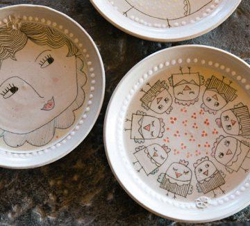 Une poterie peu commune