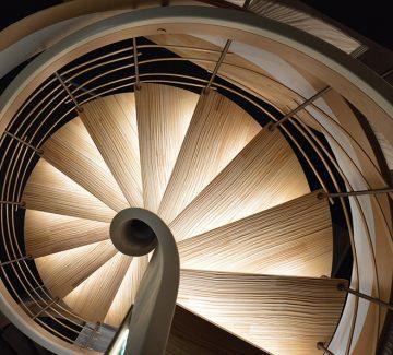 Quand l'escalier prend de la hauteur