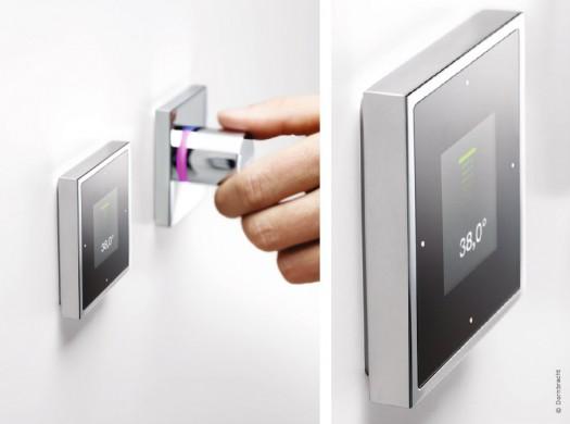 salle de bains high-tech