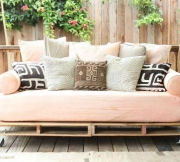 DIY Le salon de jardin palette !