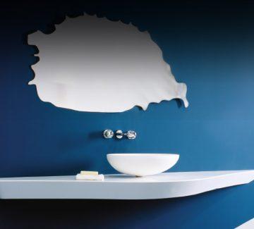 Salle de bains : Les «solid surface» se plient à nos envies