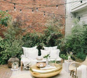 Une terrasse cosy pour l'été